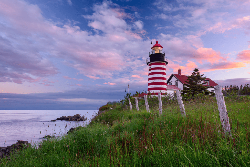 West Quoddy Headlight and Park - Photo Credit to: Michael A Blanchette.