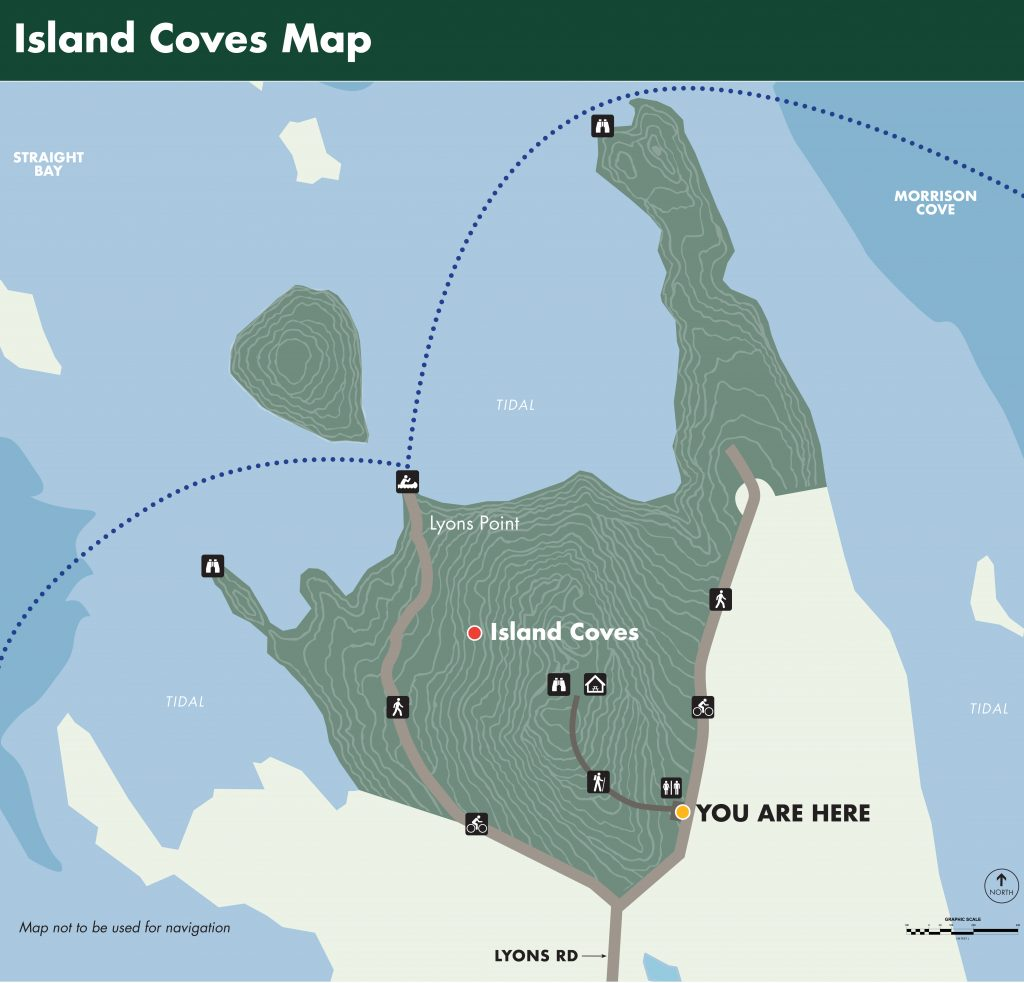 Island Coves Map