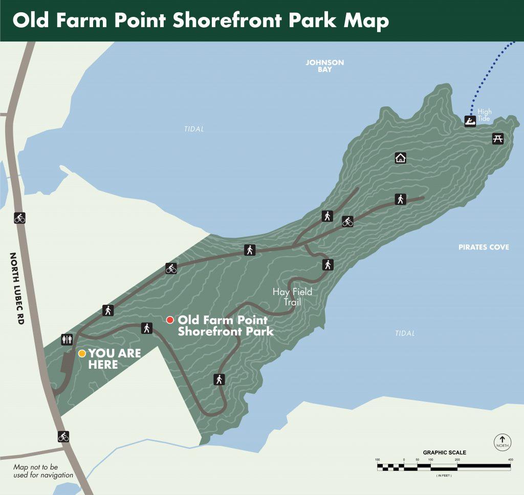 Old Farm Point Shorefront Park Map