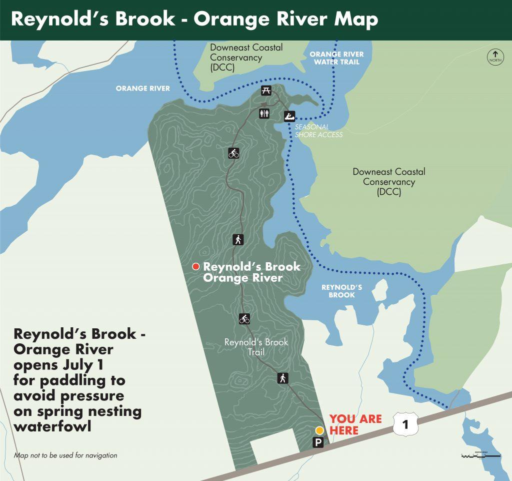 Reynold's Brook - Orange River Map