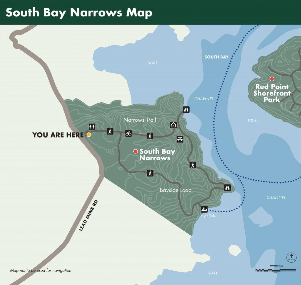 South Bay Narrows Map